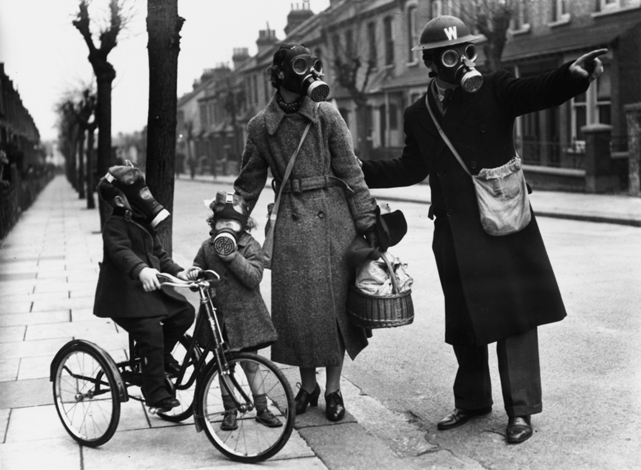 gas mask family small